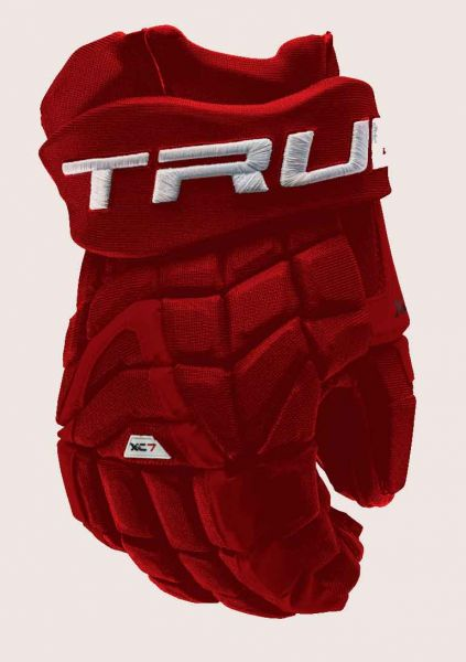 True XC7 Zpalm A-Fit 2018 Eishockey Handschuhe SR