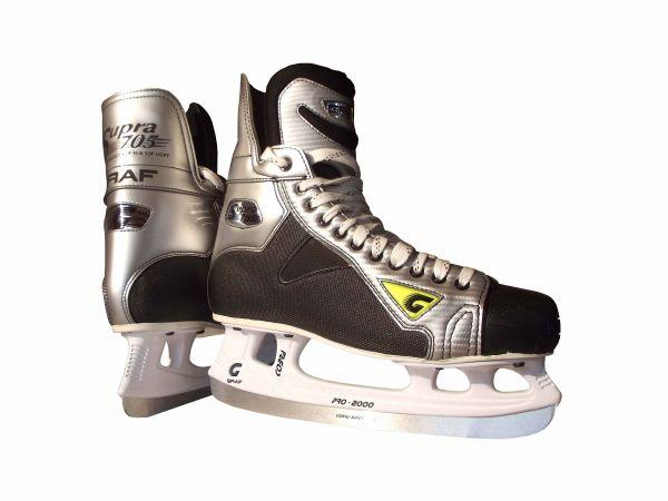 Graf G705 Eishockey Schlittschuhe Übergröße