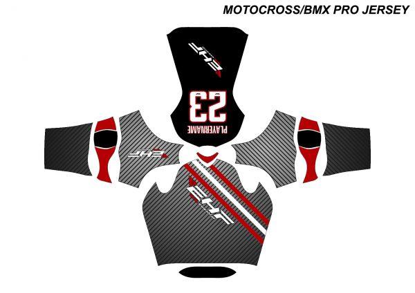 HW Custom Motocross Trikot PRO