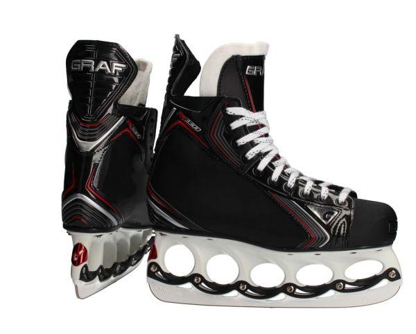 Graf PK3300 T-Blade Eishockey Schlittschuhe SR/JR