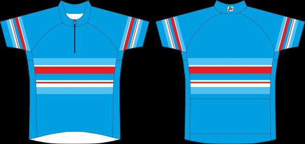 BikeWear Radsport Trikot kurzarm