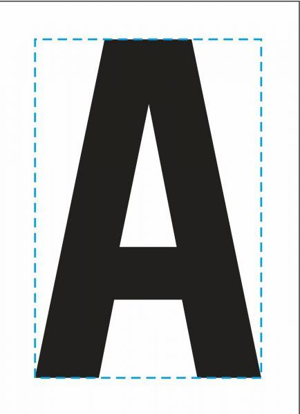 """HW Aufnäher Patch """"A"""""""
