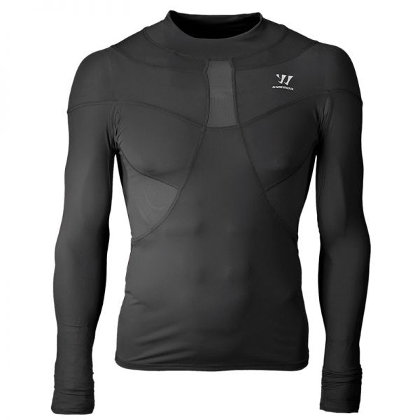 Warrior Compression Shirt Turtle Neck Tee Long Sleeve