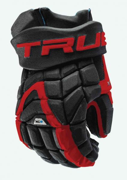 True XC9 Zpalm A-Fit 2018 Eishockey Handschuhe SR